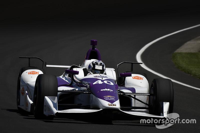 #40 Zach Veach, Indy Women in Tech Championship / Chevrolet