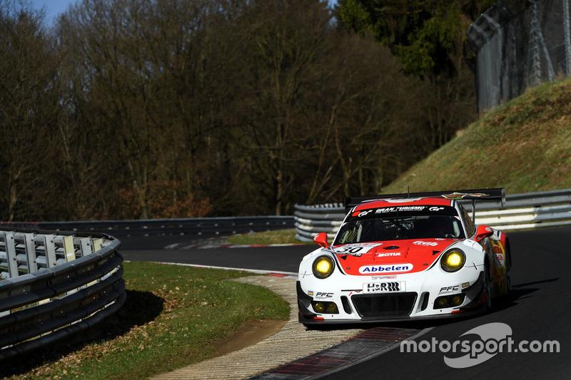 #30 Frikadelli Racing Team, Porsche 911 GT3 R: Klaus Abbelen, Andreas Ziegler, Norbert Siedler