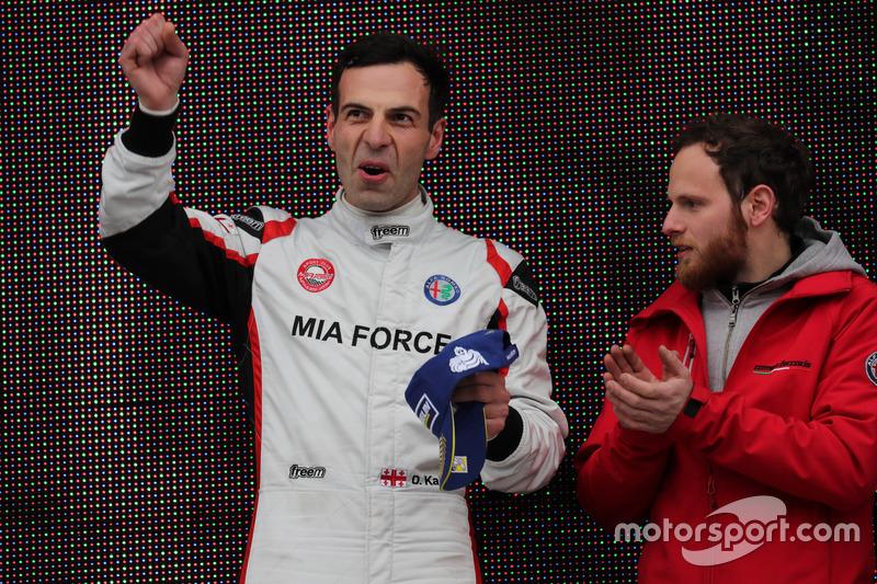 1. Davit Kajaia, GE-Force, Alfa Romeo Giulietta TCR