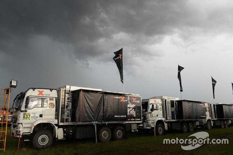 Camiones del X-Raid Team