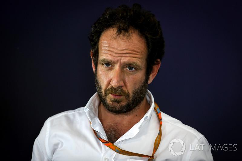 Меіа-делегат FIA Маттео Бінотто