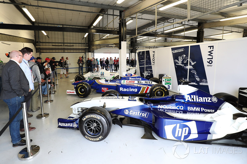 Williams FW 26 BMW on display as part of the teams 40th Anniversary celebrations