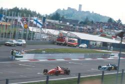 Жан Алези, Ferrari 412T2, Михаэль Шумахер, Benetton B195
