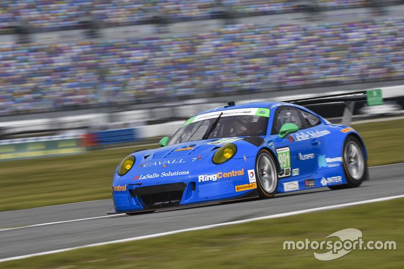 #991 TRG, Porsche 911 GT3 R: Santiago Creel, Wolf Henzler, Jan Heylen, Mike Hedlund, Timothy Pappas
