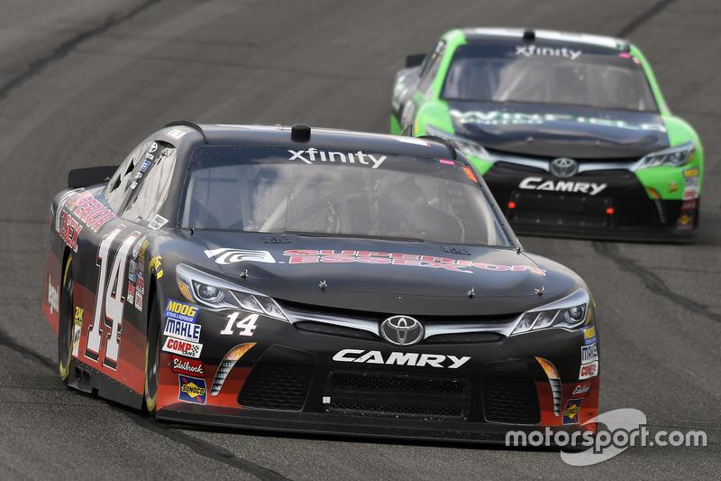 J.J. Yeley, TriStar Motorsports, Toyota; Dakoda Armstrong, JGL Racing, Toyota