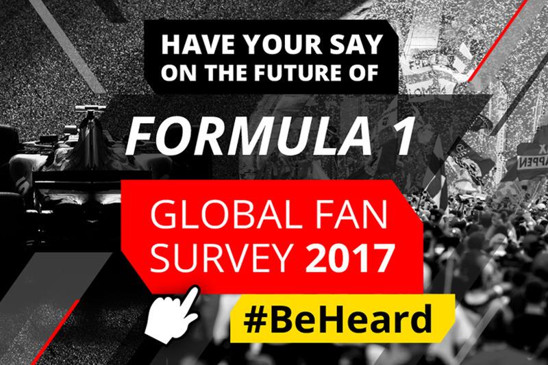 Formel 1 Motorsport.com News Motorsport Network startet weltweite Fan-Umfrage zur Formel 1