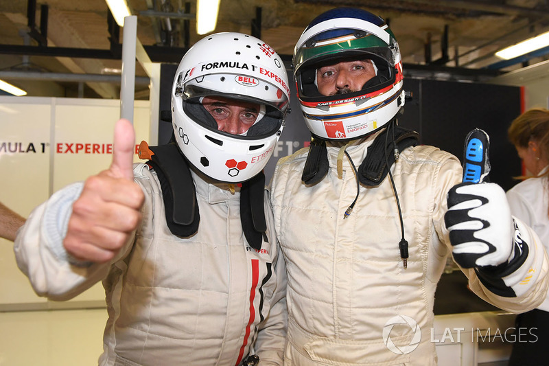 Ivan Capelli, F1 Experiences 2-Seater Driver and F1 Experiences 2-Seater passenger
