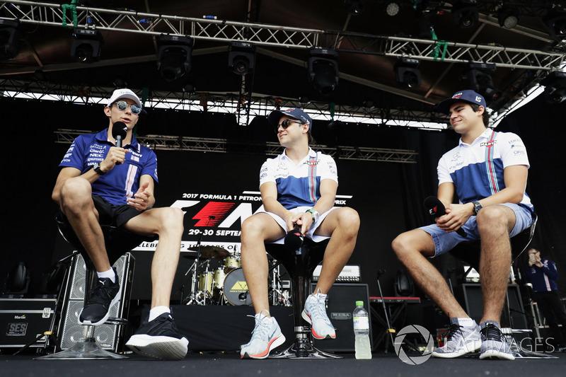 Естебан Окон і Феліпе Маcса, Force India