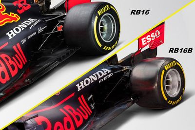 Presentación del Red Bull RB16B