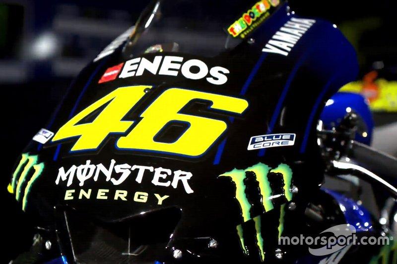 Valentino Rossi, Yamaha Motor Racing, YZR-M1 detalhe