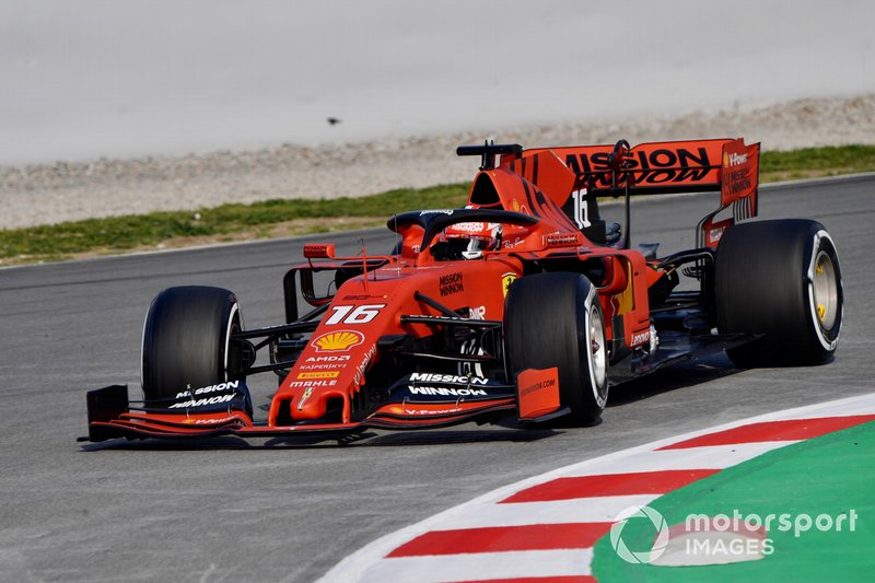 Formel-1-Test in Barcelona (1/2)