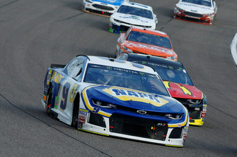 Chase Elliott, Hendrick Motorsports, Chevrolet Camaro NAPA Auto Parts and Jamie McMurray, Chip Ganassi Racing, Chevrolet Camaro McDonald's