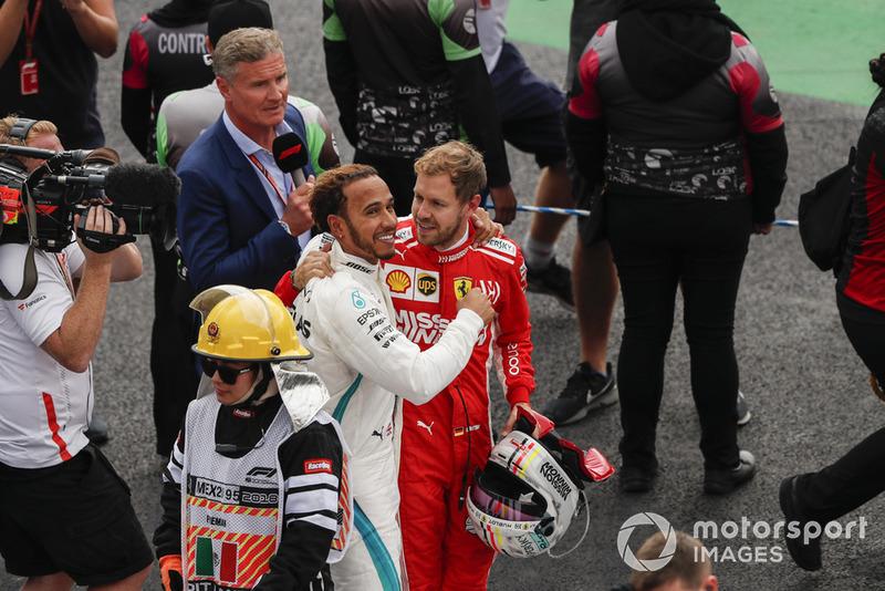 Себастьян Феттель, Ferrari, Льюіс Хемілтон, Mercedes AMG F1