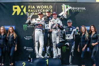 Podium: 1. Johan Kristoffersson, PSRX Volkswagen Sweden, 2. Mattias Ekström, EKS Audi Sport, 3. Andreas Bakkerud, EKS Audi Sport