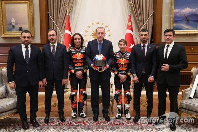 Can ve Deniz Öncü, Cumhurbaşkanı Erdoğan görüşmesi