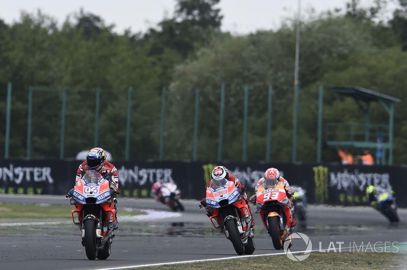 20. Гран Прі Чехії 2018: Андреа Довіціозо, Ducati Team