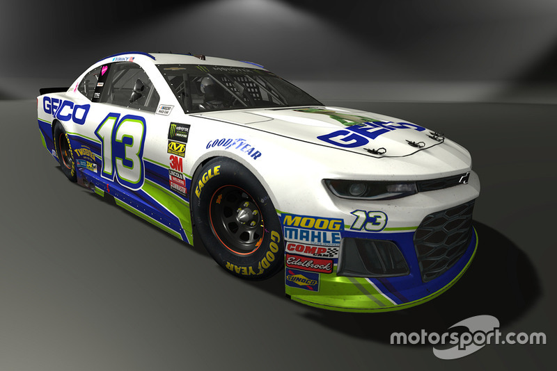 Ty Dillon, Germain Racing, Chevrolet Camaro - NASCAR Heat 3 skin