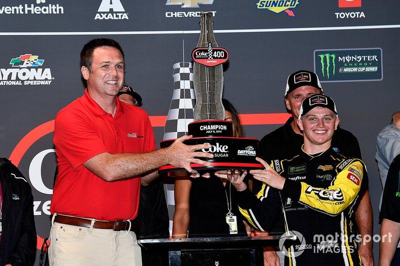 Justin Haley, Spire Motorsports, Chevrolet Camaro Fraternal Order of Eagles wins