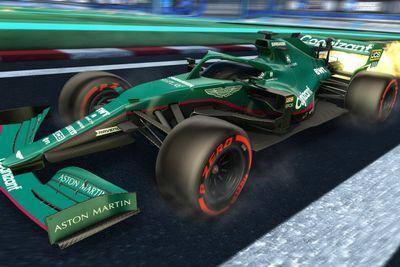 Rocket League F1 livery