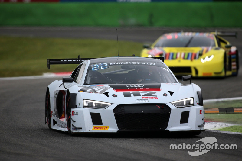 #74 ISR, Audi R8 LMS: Henry Hassid, Philippe Giauque, Franck Perera