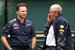 Кристиан Хорнер, руководитель Red Bull Racing и доктор Хельмут Марко, консультант Red Bull Racing