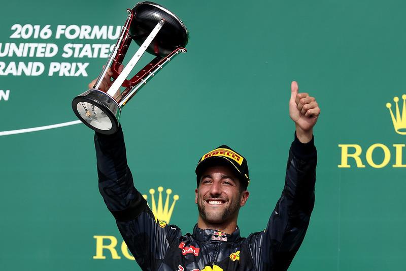 3rd place Daniel Ricciardo, Red Bull Racing