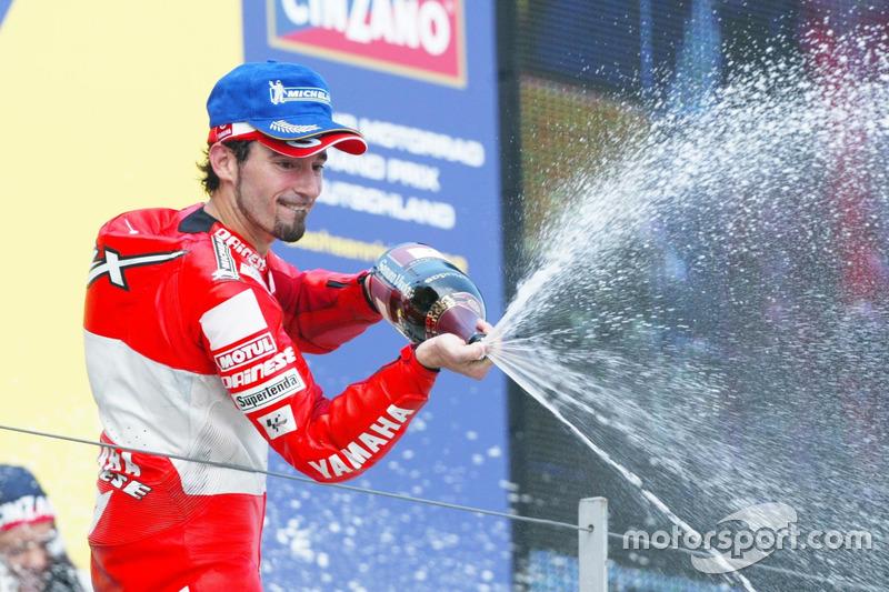 Podium: Max Biaggi, Marlboro Yamaha Team