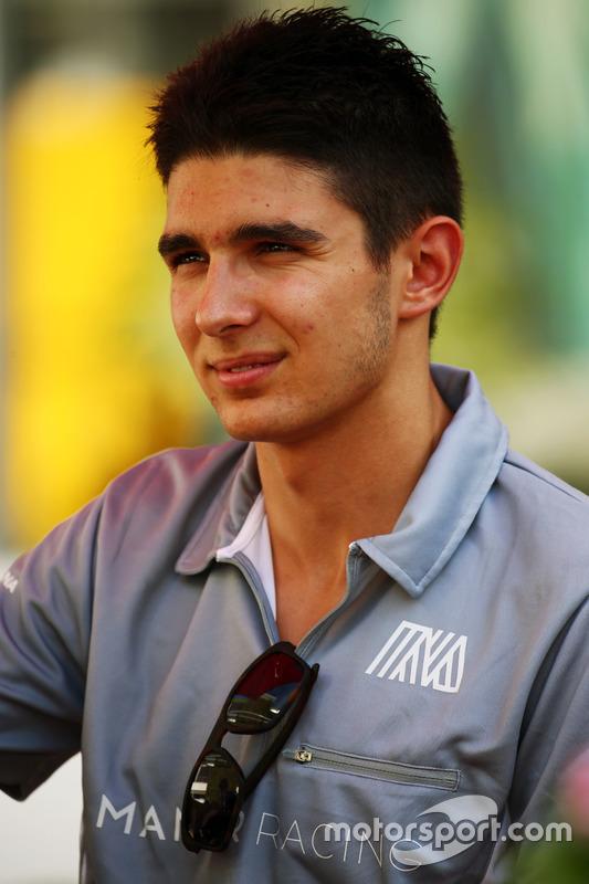 Esteban Ocon (FRA) Manor Racing