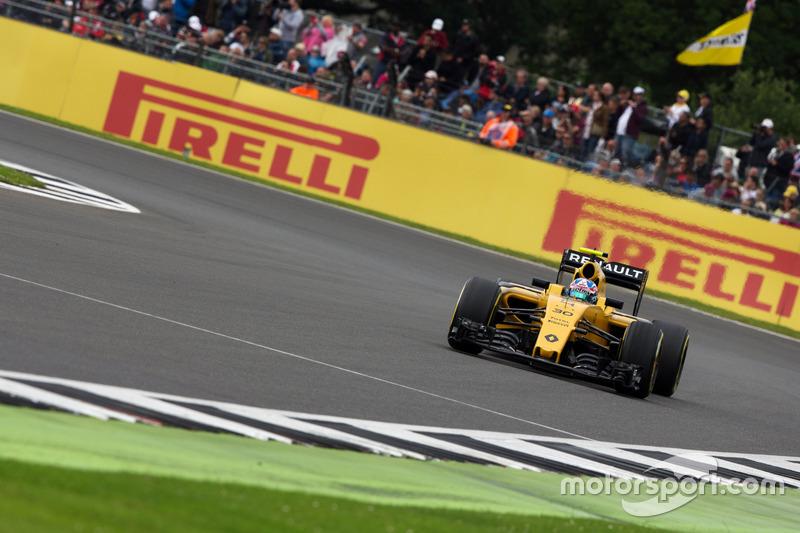 Ausgefallen: Jolyon Palmer, Renault Sport F1 Team RS16