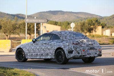 Spyshots: Mercedes-AMG C63 Cabriolet 2017