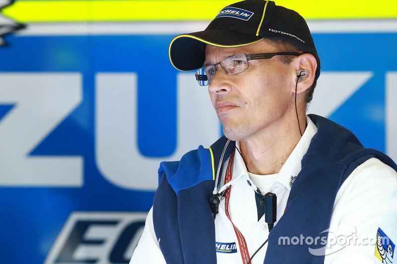 Nicolas Goubert, Deputy Director and Technical Director Michelin Motorsport