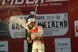Alberto Viberti, BRC Racing Team festeggia sul podio di Gara 1