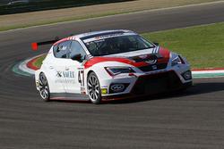 Alberto Viberti, Seat Leon Racer S.G.-TCR, BRC racing Team