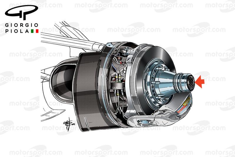 Conduit de frein de la Haas VF-16