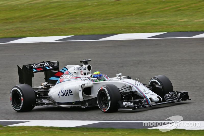 12. Felipe Massa, Williams FW38