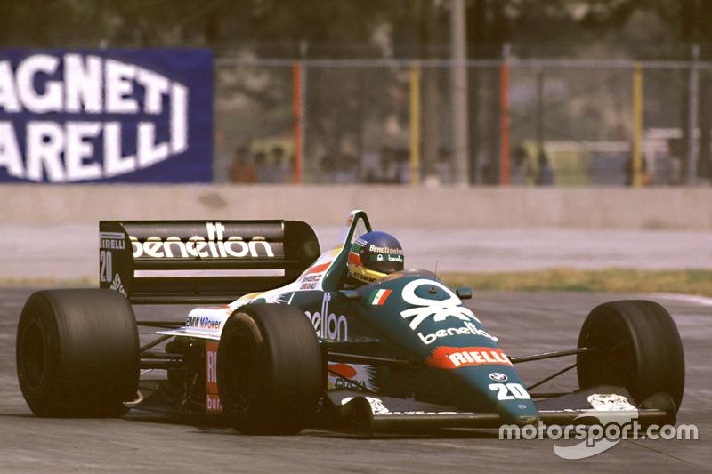 ... ist Mexiko 1986 das 35. Formel-1-Rennen. Berger gewinnt es, weil ...