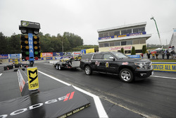 Rained out drag strip