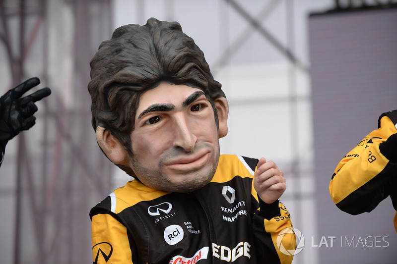 Guiñol de Carlos Sainz Jr., Renault Sport F1 Team