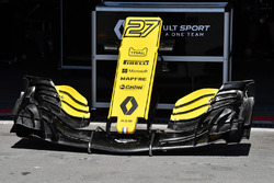 Renault Sport F1 Team R.S. 18 nose and front wing