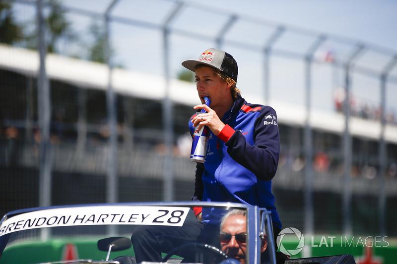 15 місце — Брендон Хартлі (Нова Зеландія, Toro Rosso) — коефіцієнт 2001,00
