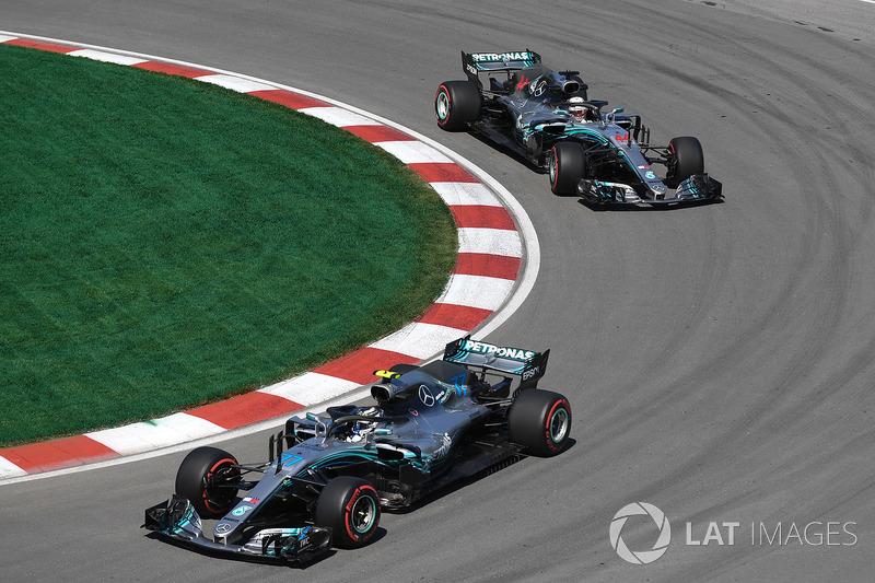 Льюіс Хемілтон, Валттері Боттас, Mercedes-AMG F1 W09