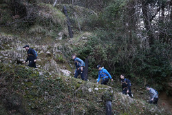 Philipp Eng, Marco Wittmann, Augusto Farfus, Bruno Spengler and Joel Eriksson, Hiking