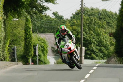 James Hillier has a scary moment