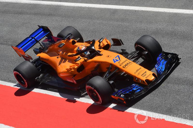 Lando Norris, McLaren MCL33