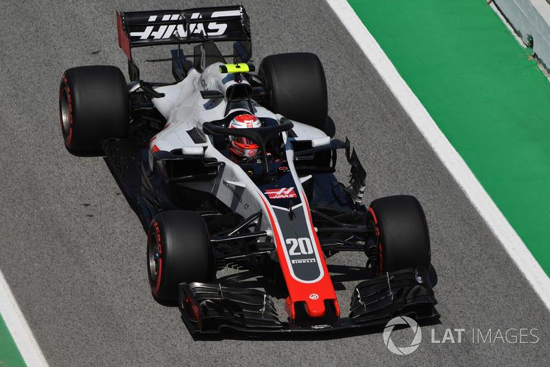 6. Kevin Magnussen, Haas F1 Team VF-18