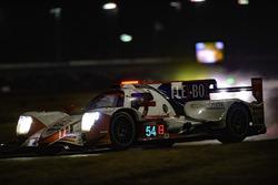 #54 CORE autosport ORECA LMP2, P: Jon Bennett, Colin Braun, Romain Dumas, Loic Duval rain