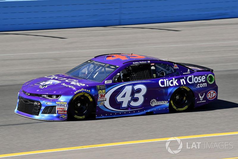 27. Darrell Wallace Jr., No. 43 Richard Petty Motorsports Chevrolet Camaro