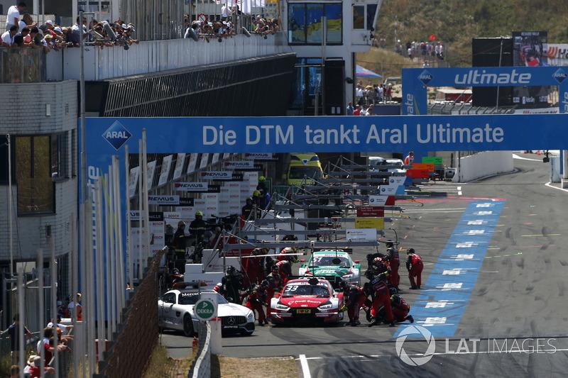 Піт-стоп: Рене Раст Audi Sport Team Rosberg, Audi RS 5 DTM