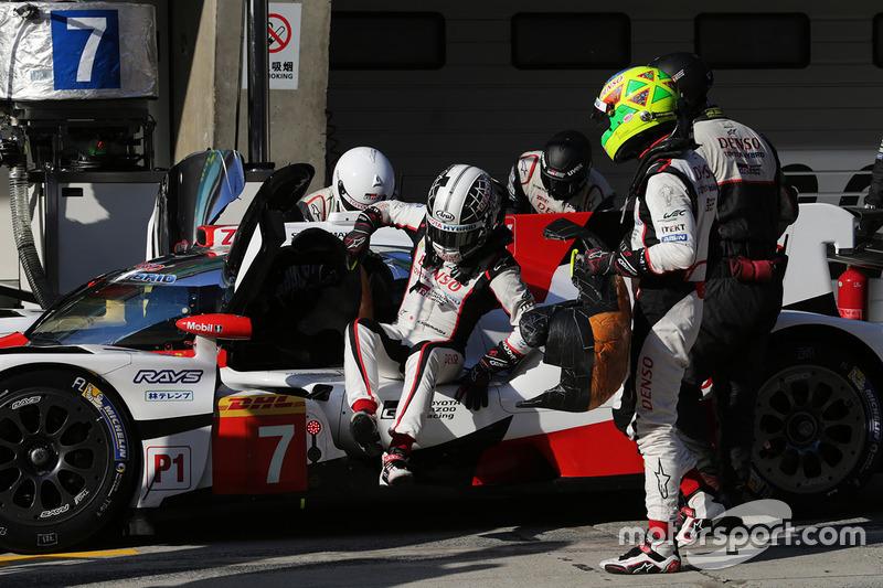 #7 Toyota Gazoo Racing Toyota TS050-Hybrid: Mike Conway, Kamui Kobayashi