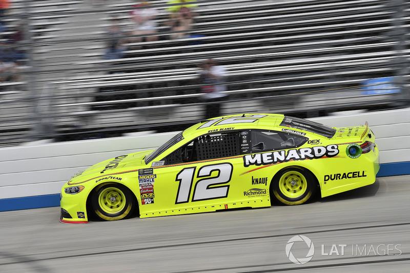 14. Ryan Blaney, Team Penske, Ford Fusion Menard's / Duracell